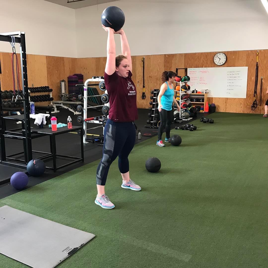 Starting from the top bodyrevolution ballslams strongereveryday fitnesslab