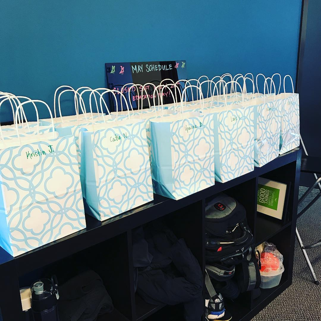Gift Bags for our newest membersleandownchallenge participants We had ahellip