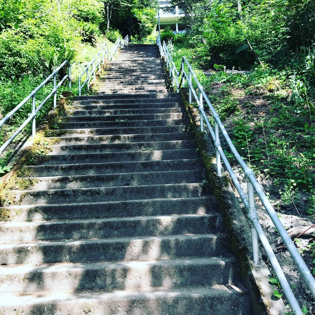 Hello stairs Hello spring strongereveryday movementislife consistencyiskey fitnesslab