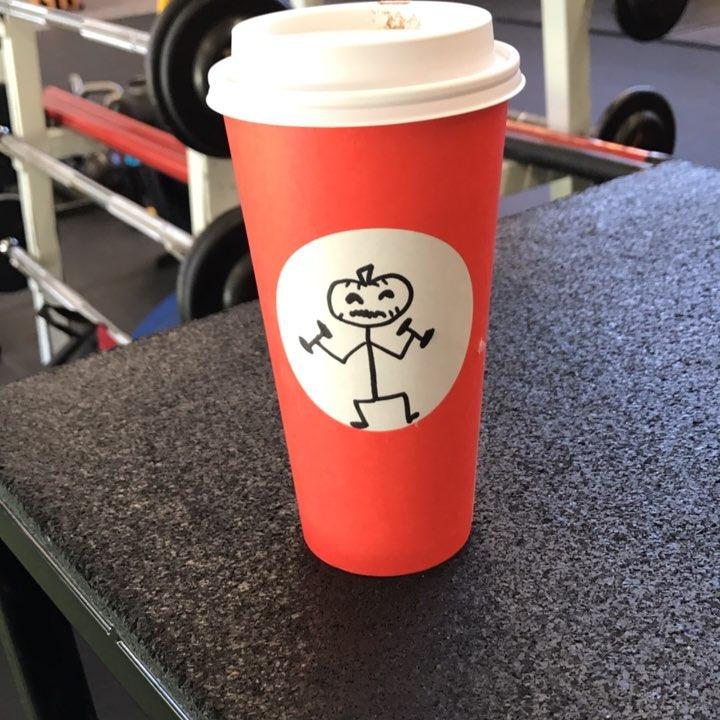 Starbucks buddies No its not pumpkin spice! fall ballardstrong fitnesslab