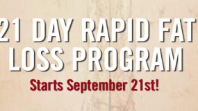 21 Day Rapid Fat Loss Program FAQ